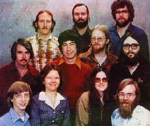 Microsoft team - 1978
