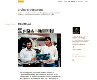 http://arvino.posterous.com